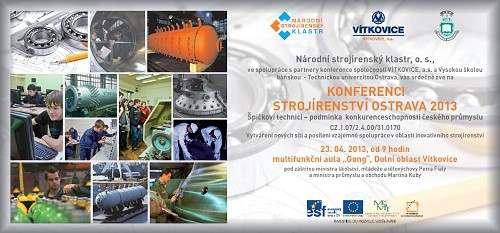 Konference Strojírenství Ostrava 2013
