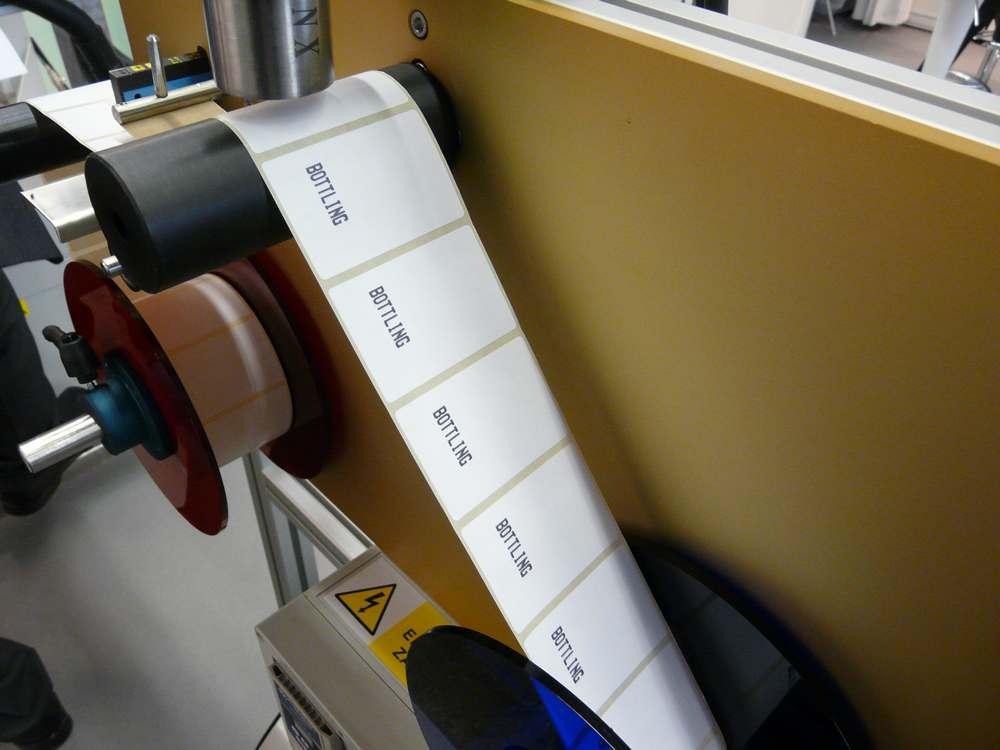 Tisk na etikety -detail