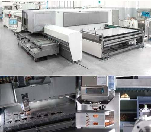 Kombinovaný laser ADIGE LC5 pro zpracování trubek a plechu