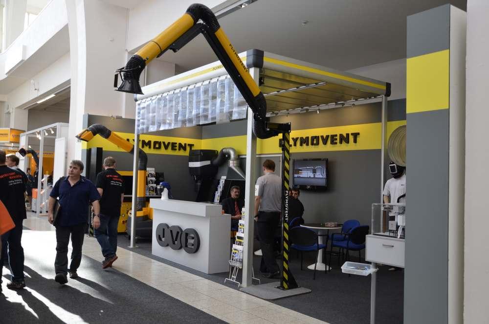 Expozice Plymovent na MSV 2013