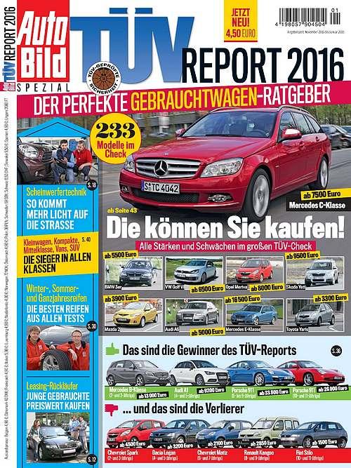 Automobily TUV report