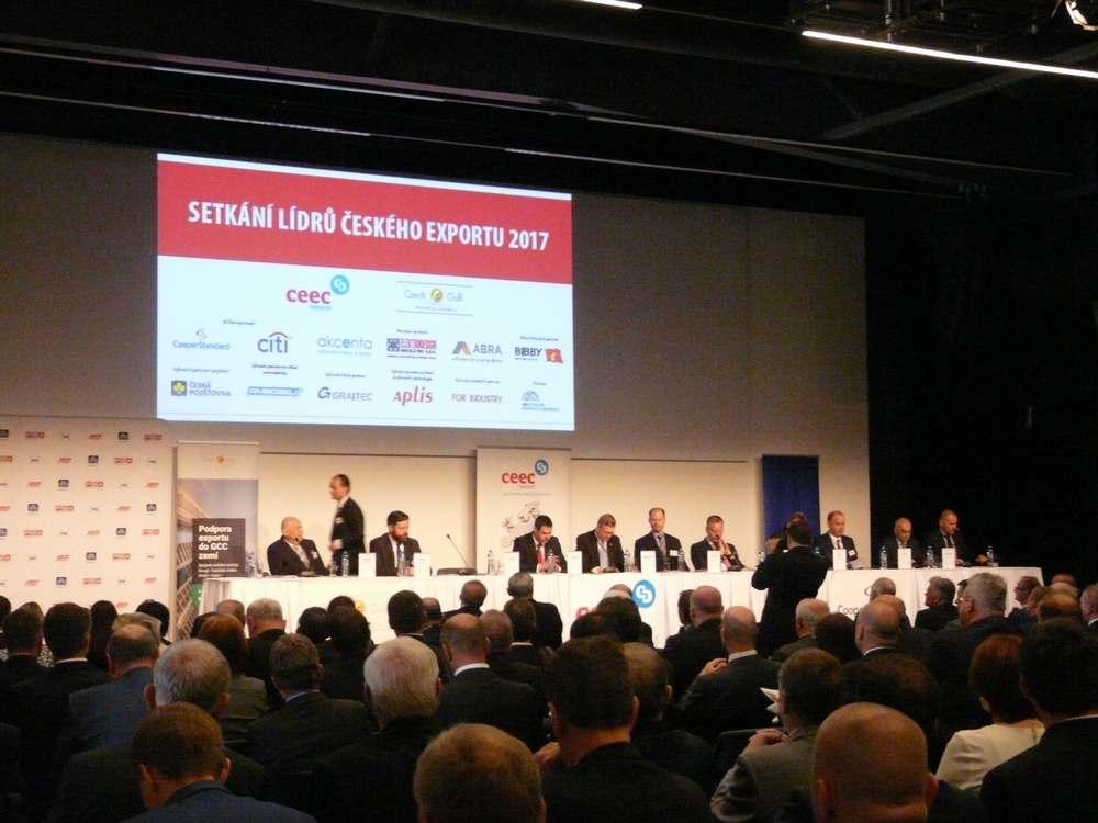 Setkání lídrů českého exportu