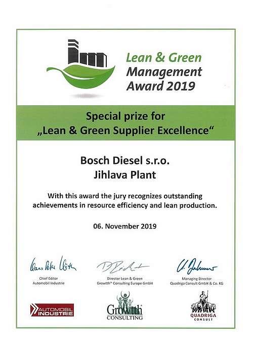 Lean & Green Bosch
