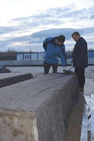 těžký beton