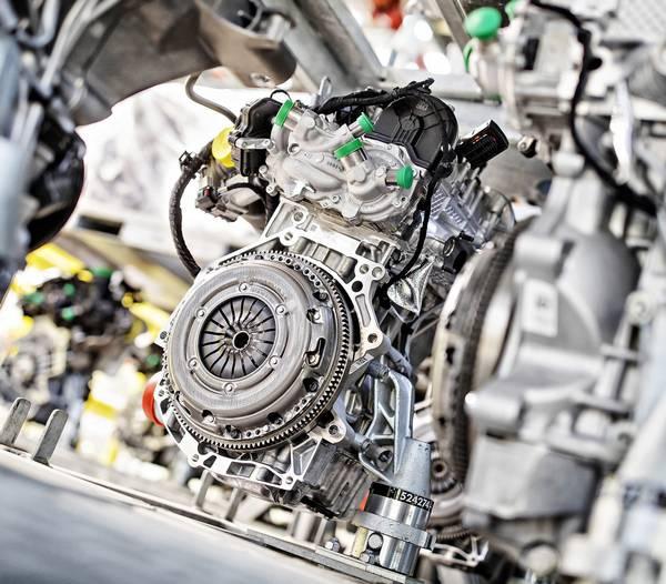 motor škoda auto