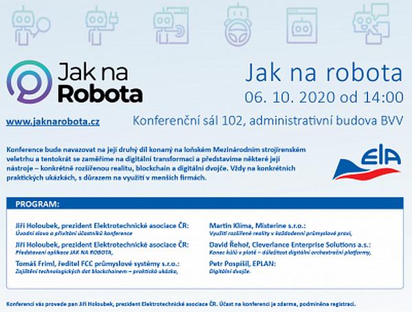 konference jak na robota