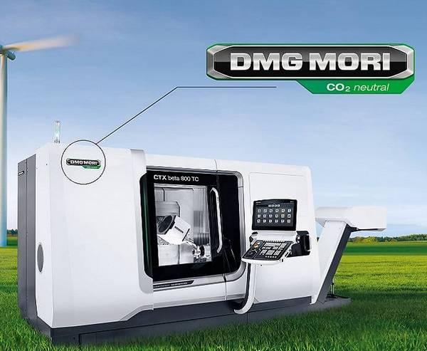 ntegrovaný přístup: Společnost DMG MORI spojuje své iniciativy v oblasti klimatické neutrality do tří oblastí - GREENMACHINE (zcela klimaticky neutrální výroba strojů), GREENMODE (energeticky a emisně efektivní provoz strojů) a GREENTECH (závazek k dalšímu rozvoji nových zelených technologií).