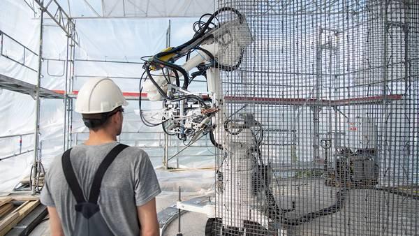 ABB Robot stavebnictví