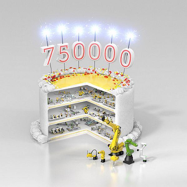 fanuc robot 750.000