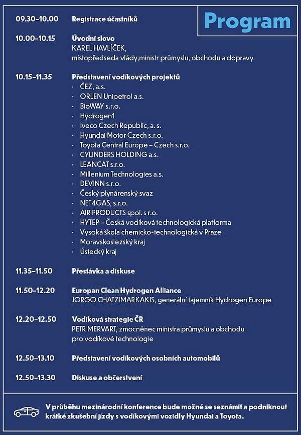 vodík konference