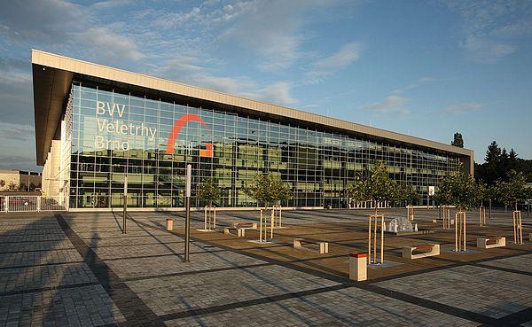 Brno výstaviště pavilon P