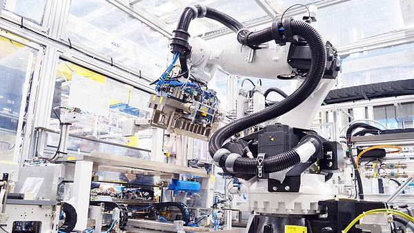 Bosch výroba baterii