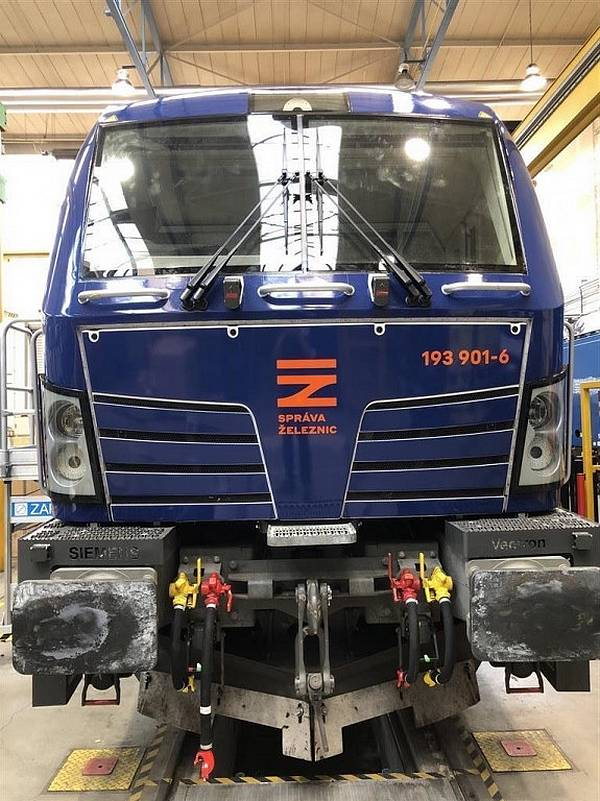 lokomotiva Vectron od Siemens Mobility