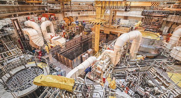 temelín reaktor
