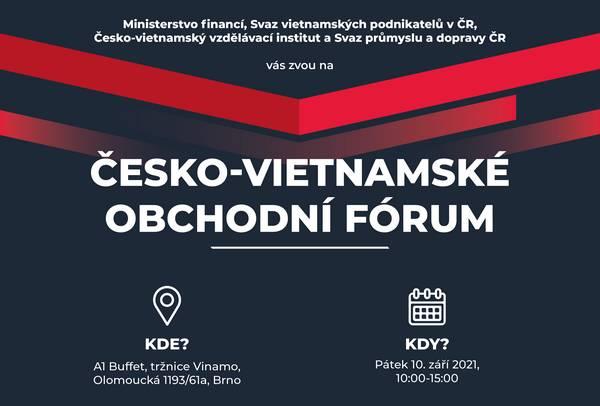 česko-vietnamské obchodní fórum